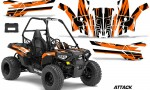 Polaris ACE 150 Graphics Kit Attack O 150x90 - Polaris Sportsman ACE 150 2016-2018 Graphics