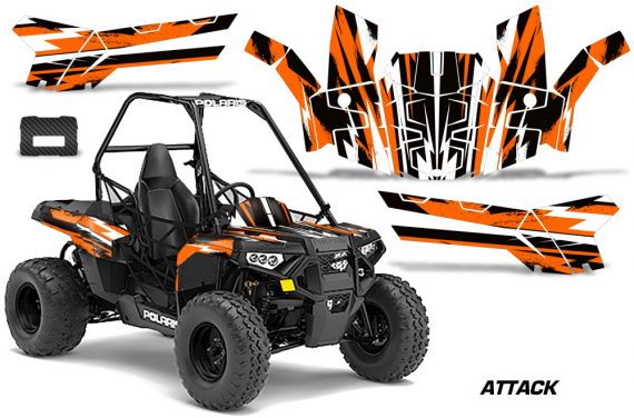 Polaris ACE 150 Graphics Kit Attack O 570x376 - Polaris Sportsman ACE 150 2016-2018 Graphics