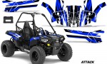 Polaris ACE 150 Graphics Kit Attack U 150x90 - Polaris Sportsman ACE 150 2016-2018 Graphics