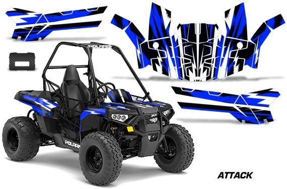 Polaris ACE 150 Graphics Kit Attack U 570x376 - Polaris Sportsman ACE 150 2016-2018 Graphics