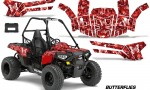 Polaris ACE 150 Graphics Kit Butterflies WR 150x90 - Polaris Sportsman ACE 150 2016-2018 Graphics