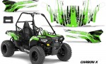 Polaris ACE 150 Graphics Kit Carbon X G 150x90 - Polaris Sportsman ACE 150 2016-2018 Graphics