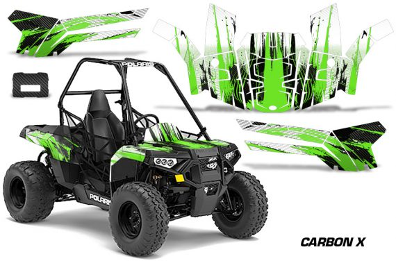 Polaris ACE 150 Graphics Kit Carbon X G 570x376 - Polaris Sportsman ACE 150 2016-2018 Graphics