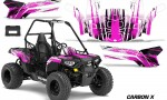 Polaris ACE 150 Graphics Kit Carbon X P 150x90 - Polaris Sportsman ACE 150 2016-2018 Graphics