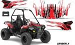 Polaris ACE 150 Graphics Kit Carbon X R 150x90 - Polaris Sportsman ACE 150 2016-2018 Graphics