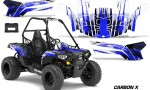 Polaris ACE 150 Graphics Kit Carbon X U 150x90 - Polaris Sportsman ACE 150 2016-2018 Graphics