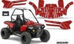 Polaris ACE 150 Graphics Kit Digicamo Red 150x90 - Polaris Sportsman ACE 150 2016-2018 Graphics