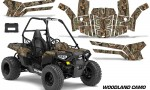 Polaris ACE 150 Graphics Kit Woodland Camo 150x90 - Polaris Sportsman ACE 150 2016-2018 Graphics