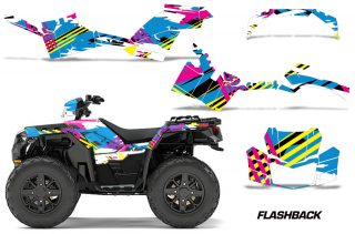 Polaris-Sportsman-850-1000-2017-2018-Graphics-Kit-Flashback