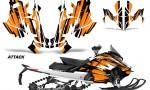 Skidoo Gen 4 850 X Summit Renegade E Tec Graphic Kit Decal Wrap Attack O 150x90 - Ski Doo GEN 4 MXZ Renegade Summit 850 2017-2021 Snowmobile Graphics