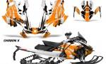 Skidoo Gen 4 850 X Summit Renegade E Tec Graphic Kit Decal Wrap Carbon X O 150x90 - Ski Doo GEN 4 MXZ Renegade Summit 850 2017-2021 Snowmobile Graphics