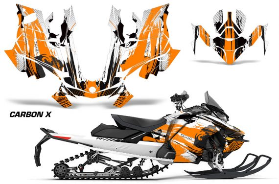 Skidoo-Gen-4-850-X-Summit-Renegade-E-Tec-Graphic-Kit-Decal-Wrap-Carbon-X-O