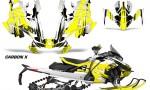 Skidoo Gen 4 850 X Summit Renegade E Tec Graphic Kit Decal Wrap Carbon X Y 150x90 - Ski Doo GEN 4 MXZ Renegade Summit 850 2017-2021 Snowmobile Graphics