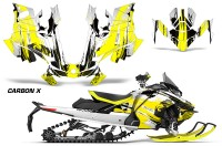 Skidoo-Gen-4-850-X-Summit-Renegade-E-Tec-Graphic-Kit-Decal-Wrap-Carbon-X-Y