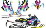 Skidoo Gen 4 850 X Summit Renegade E Tec Graphic Kit Decal Wrap Flashback 150x90 - Ski Doo GEN 4 MXZ Renegade Summit 850 2017-2021 Snowmobile Graphics