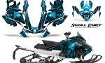 Skidoo Gen 4 850 X Summit Renegade E Tec Graphic Kit Skull Chief BlueIce 150x90 - Ski Doo GEN 4 MXZ Renegade Summit 850 2017-2021 Snowmobile Graphics