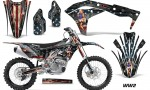 Kawasaki KX 250F 2017 Graphics Kit Decal WW2 NPS 150x90 - Kawasaki KX250F 2017-2018 Graphics