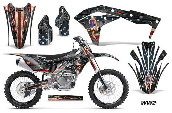 Kawasaki KX250F 2017-2018 Graphics