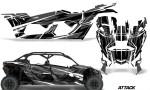Can Am Maverick X3 4 Door Graphics Kit Wrap Attack K 150x90 - Can-Am BRP Maverick X3 TURBO MAX DS RS 2016-2021 Graphics