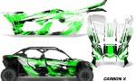 Can Am Maverick X3 4 Door Graphics Kit Wrap Carbon X G 150x90 - Can-Am BRP Maverick X3 TURBO MAX DS RS 2016-2021 Graphics