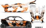 Can Am Maverick X3 4 Door Graphics Kit Wrap Carbon X O 150x90 - Can-Am BRP Maverick X3 TURBO MAX DS RS 2016-2021 Graphics
