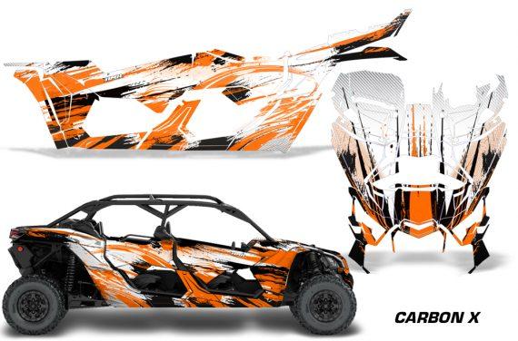 Can Am Maverick X3 4 Door Graphics Kit Wrap Carbon X O 570x376 - Can-Am BRP Maverick X3 TURBO MAX DS RS 2016-2021 Graphics