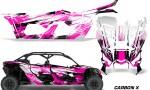 Can Am Maverick X3 4 Door Graphics Kit Wrap Carbon X P 150x90 - Can-Am BRP Maverick X3 TURBO MAX DS RS 2016-2021 Graphics