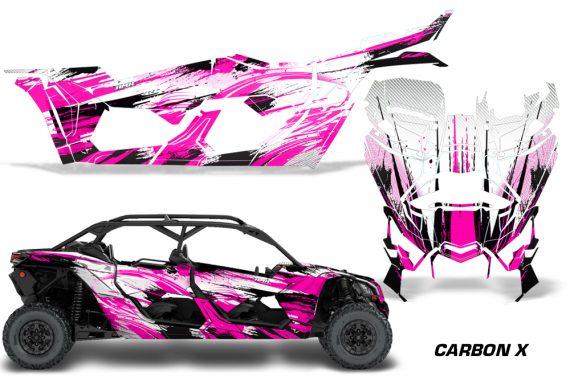 Can Am Maverick X3 4 Door Graphics Kit Wrap Carbon X P 570x376 - Can-Am BRP Maverick X3 TURBO MAX DS RS 2016-2021 Graphics