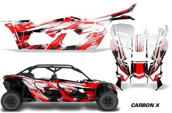 Can Am Maverick X3 4 Door Graphics Kit Wrap Carbon X R 570x376 - Can-Am BRP Maverick X3 TURBO MAX DS RS 2016-2021 Graphics