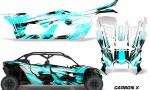 Can Am Maverick X3 4 Door Graphics Kit Wrap Carbon X T 150x90 - Can-Am BRP Maverick X3 TURBO MAX DS RS 2016-2021 Graphics