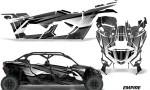 Can Am Maverick X3 4 Door Graphics Kit Wrap Empire K 150x90 - Can-Am BRP Maverick X3 TURBO MAX DS RS 2016-2021 Graphics