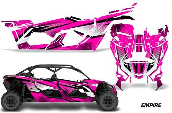 Can Am Maverick X3 4 Door Graphics Kit Wrap Empire P 570x376 - Can-Am BRP Maverick X3 TURBO MAX DS RS 2016-2021 Graphics