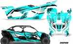 Can Am Maverick X3 4 Door Graphics Kit Wrap Empire T 150x90 - Can-Am BRP Maverick X3 TURBO MAX DS RS 2016-2021 Graphics
