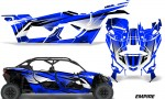 Can Am Maverick X3 4 Door Graphics Kit Wrap Empire U 150x90 - Can-Am BRP Maverick X3 TURBO MAX DS RS 2016-2021 Graphics