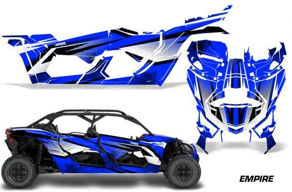 Can Am Maverick X3 4 Door Graphics Kit Wrap Empire U 570x376 - Can-Am BRP Maverick X3 TURBO MAX DS RS 2016-2021 Graphics