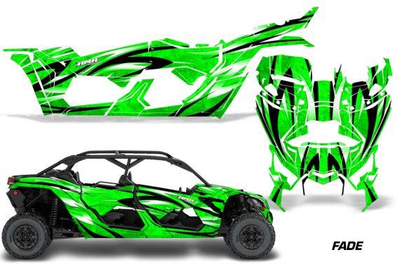 Can Am Maverick X3 4 Door Graphics Kit Wrap Fade G 570x376 - Can-Am BRP Maverick X3 TURBO MAX DS RS 2016-2021 Graphics