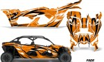 Can Am Maverick X3 4 Door Graphics Kit Wrap Fade O 150x90 - Can-Am BRP Maverick X3 TURBO MAX DS RS 2016-2021 Graphics
