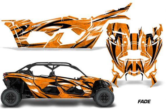 Can Am Maverick X3 4 Door Graphics Kit Wrap Fade O 570x376 - Can-Am BRP Maverick X3 TURBO MAX DS RS 2016-2021 Graphics