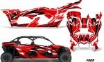 Can Am Maverick X3 4 Door Graphics Kit Wrap Fade R 150x90 - Can-Am BRP Maverick X3 TURBO MAX DS RS 2016-2021 Graphics