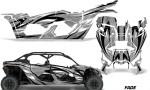 Can Am Maverick X3 4 Door Graphics Kit Wrap Fade S 150x90 - Can-Am BRP Maverick X3 TURBO MAX DS RS 2016-2021 Graphics
