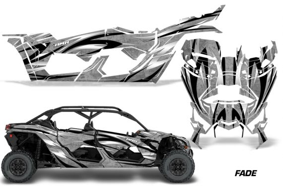 Can Am Maverick X3 4 Door Graphics Kit Wrap Fade S 570x376 - Can-Am BRP Maverick X3 TURBO MAX DS RS 2016-2021 Graphics