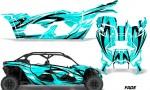 Can Am Maverick X3 4 Door Graphics Kit Wrap Fade T 150x90 - Can-Am BRP Maverick X3 TURBO MAX DS RS 2016-2021 Graphics