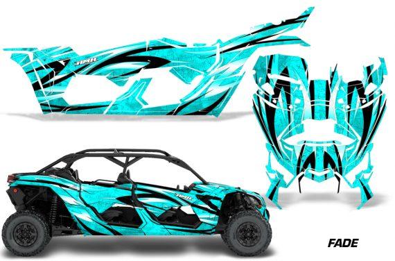 Can Am Maverick X3 4 Door Graphics Kit Wrap Fade T 570x376 - Can-Am BRP Maverick X3 TURBO MAX DS RS 2016-2021 Graphics