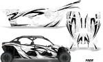 Can Am Maverick X3 4 Door Graphics Kit Wrap Fade W 150x90 - Can-Am BRP Maverick X3 TURBO MAX DS RS 2016-2021 Graphics