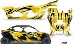 Can Am Maverick X3 4 Door Graphics Kit Wrap Fade Y 150x90 - Can-Am BRP Maverick X3 TURBO MAX DS RS 2016-2021 Graphics