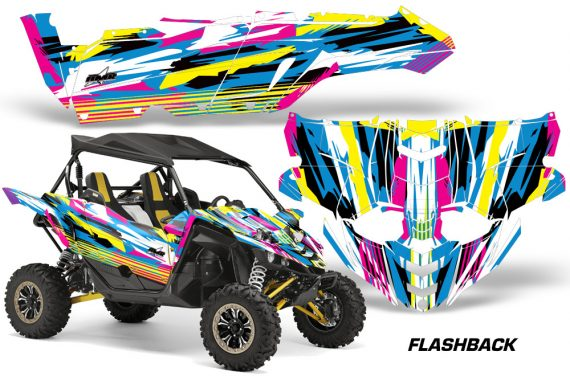 Yamaha YXZ 1000R SXS Graphic Kit Decal Wrap Flashback 570x376 - Yamaha YXZ 1000R 2015-2018 Graphics