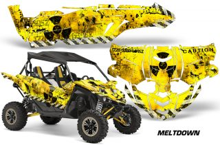 Yamaha YXZ 1000R SXS Graphic Kit Decal Wrap Meltdown BY 320x211 - Yamaha YXZ 1000R 2015-2018 Graphics
