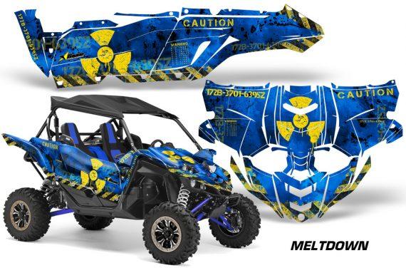 Yamaha YXZ 1000R SXS Graphic Kit Decal Wrap Mltdown YU 570x376 - Yamaha YXZ 1000R 2015-2018 Graphics