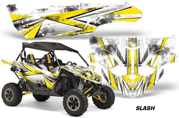 Yamaha YXZ 1000R SXS Graphic Kit Decal Wrap Slash Y 570x376 - Yamaha YXZ 1000R 2015-2018 Graphics