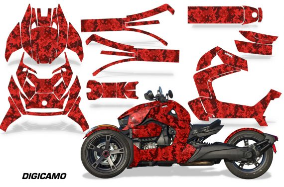 Can Am Ryker 2019 Graphic Kit Vinyl Decal Deco Digicamo Red 570x376 - Can-Am Ryker 2019-2021 Graphics